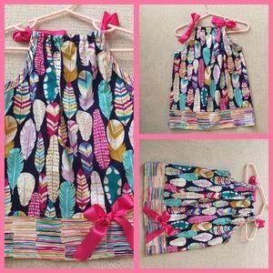 🌹100% cotton halter dress